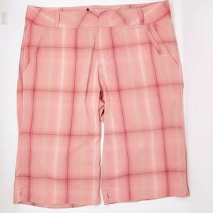Columbia OMNI-DRY Titanium Pink Bermuda Shorts 10